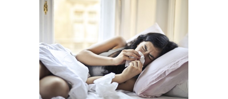 How to Sleep with Hay Fever